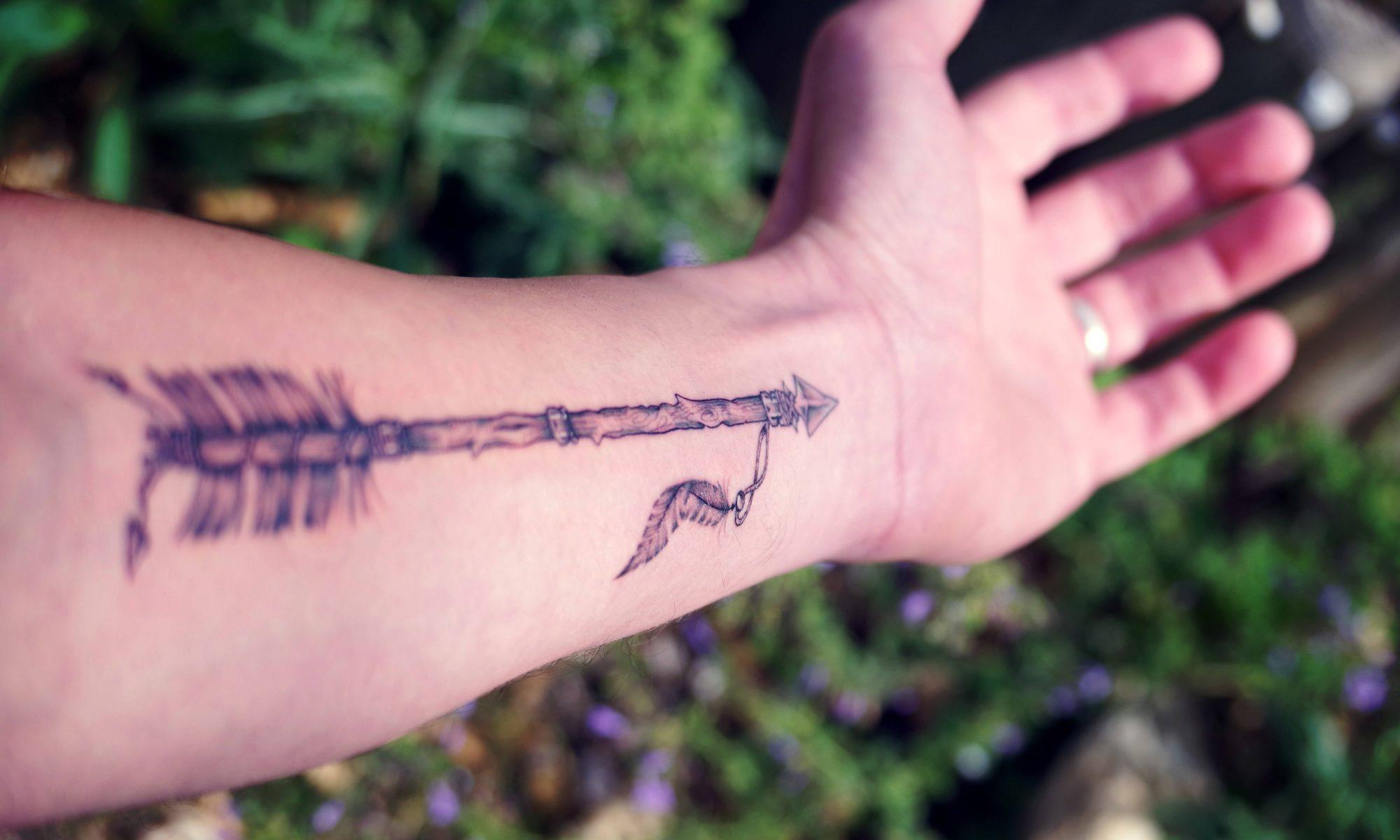 Premier tatouage - Flèche