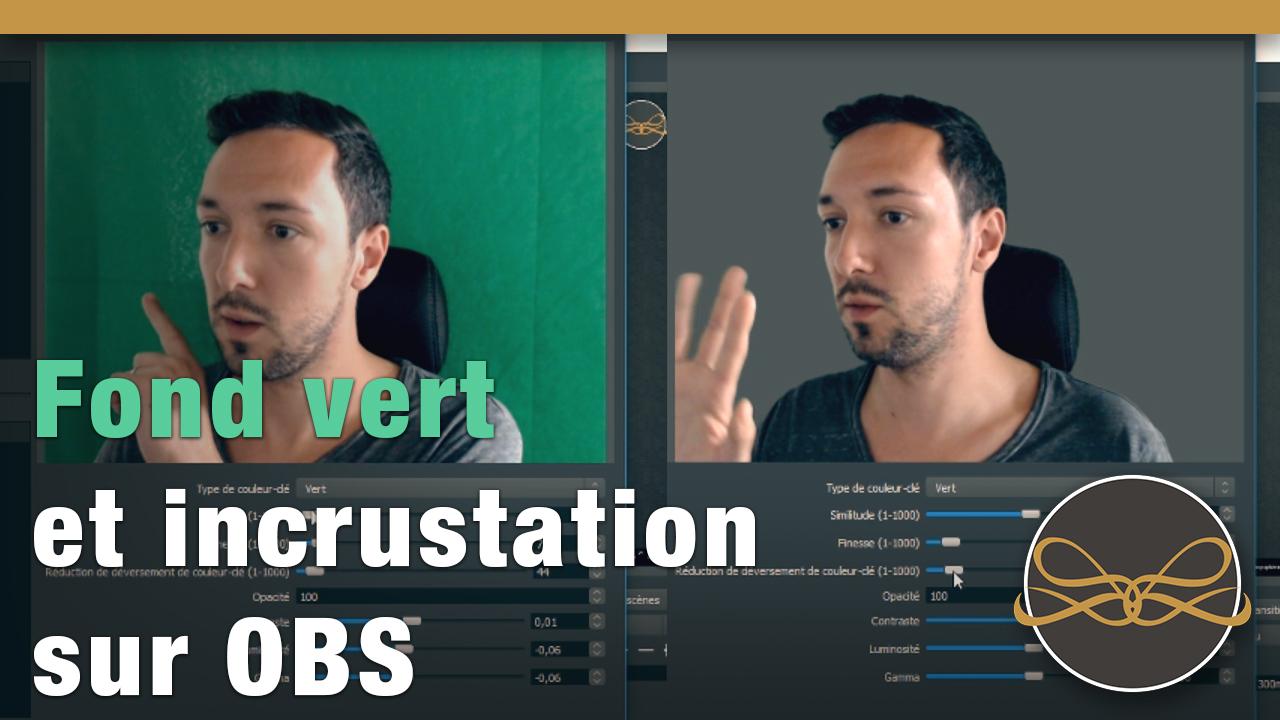 vignette vidéo - incruster sa webcam sur fond vert grace à obs studio