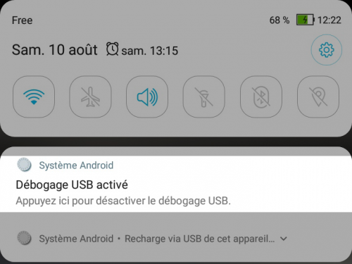 Tuto inspecter un site sous android depuis son pc - capture notification debogage